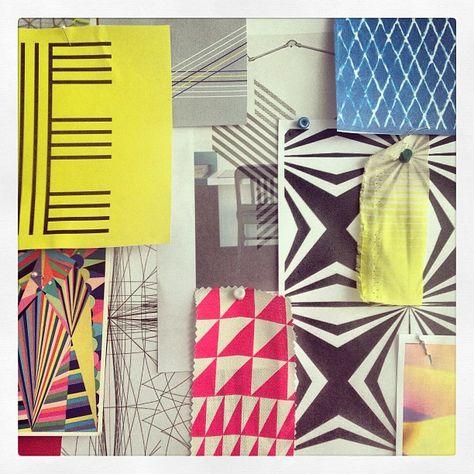 #ss13 #moodboard #geometric
