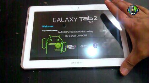 فيديو فتح صندوق تابلت سامسونج جالاكسي تاب 2 Gt P5100 Gps Galaxy Tablet