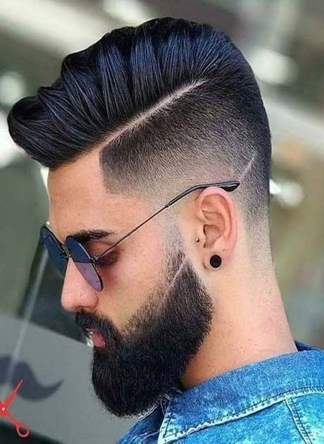 Men Hair Style Fashion 2018 2019 Ideas For Fashion Hair And Beard Styles Mens Hairstyles With Beard Men Haircut Styles