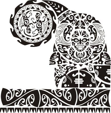 48 Coolest Polynesian Tattoo Designs Tatuajes Disenos De