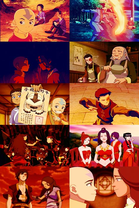 Avatar Timeline + Red.
