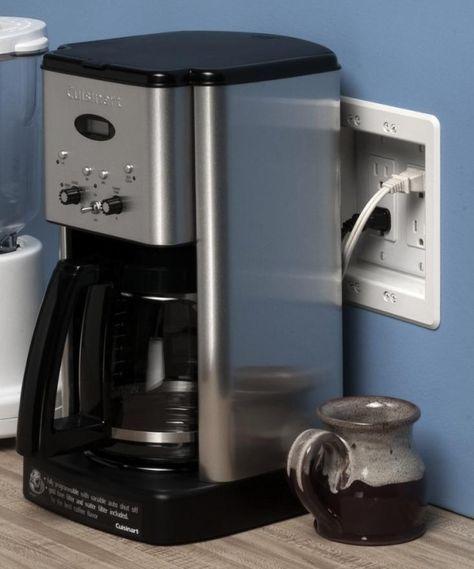 24 Best Ideas Kitchen Countertops Organization Electrical Outlets Kitchen Appliances Organization Kitchen Appliances Hide Power Strip