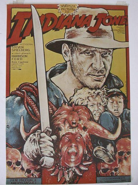 Indiana Jones (Polish) - 22x33 / USA