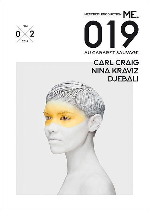 """ME.019"" with Carl Craig, Nina Kraviz and Djebali at the Cabaret Sauvage"
