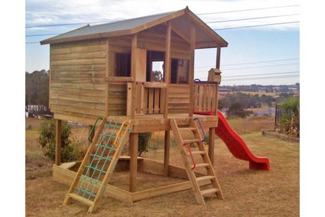 Cubby House, but will get it painted in the same colours as the main house so it matches.