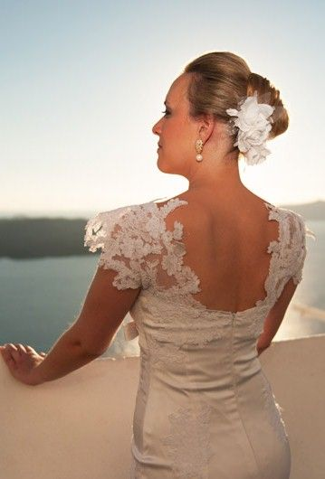 bridal hairstyle & accessories