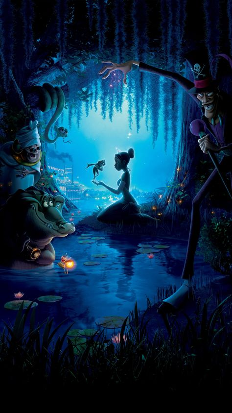 The Princess and the Frog (2009) Phone Wallpaper | Moviemania
