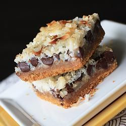 "Magic Cookie Bars | ""Five stars because this recipe is soooo easy to make and produces a delicious dessert. Perfect recipe if you have to bake in bulk because it's so quick and easy, and everyone seems to love them."" -TallGirl"