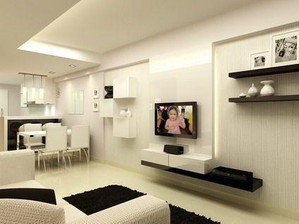Modern Kitchen Living Room