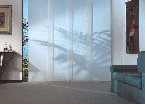 Tende per interni ed esterni. Tende Per Interni Elite Tende A Pannello Di Studiate Per Ambienti Dove Alla Tenda Si Richiede Funzionalita E Design Interior Home Curtains Tende A Pannello