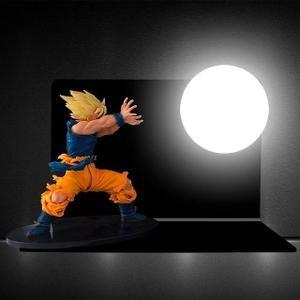 Lampe Dragon Ball Z Son Goku Kamehameha Figurine Veilleuse Led