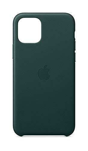 Apple Coque en cuir (pour iPhone 11 Pro) - Vert Forêt   Apple ...