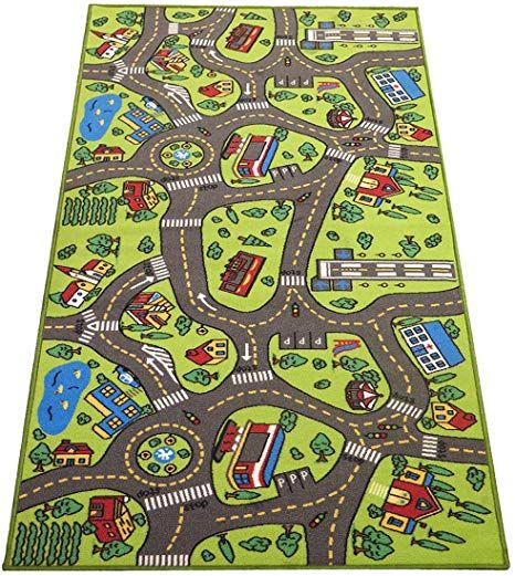 Extra Large 6 6 Feet Long Kids Carpet Playmat Rug City Life Great To Play With Cars Toys Have Fun Safe Learn Educational Ideal Gift For Children Baby B 2020