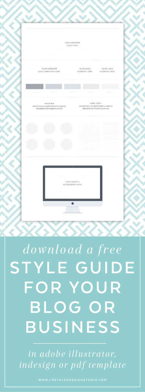 Your Brand Style Guide template awaits! Editable in Adobe - fresh sample business blueprint download