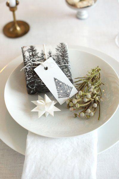 christmas Weihnachtliche Tischdeko ganz...