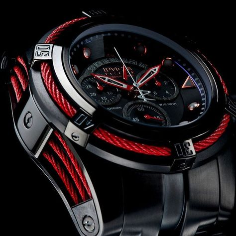 New - Invicta Reserve Jason Taylor Men L.E Swiss Made Chrono MOP Watch W/ Case #Invicta #LuxuryDressStylesSportStyles