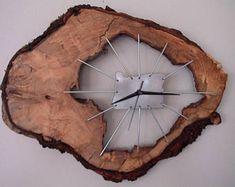 Walnut clock | Etsy