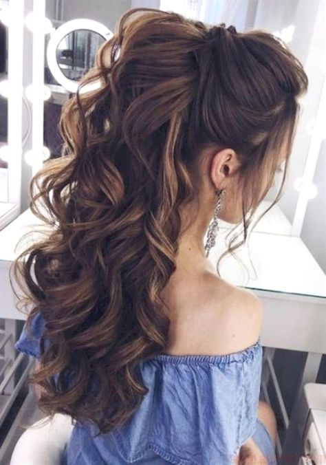 Adorable 96 Bridal Wedding Hairstyles For Long Hair that will Inspire #WeddingHa...