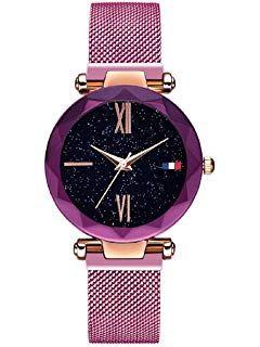 Damen Uhren, L'ananas Frauen Sternenklarer Himmel Wählen