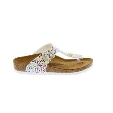 Birkenstock Gizeh slippers junior oriental mosaic white