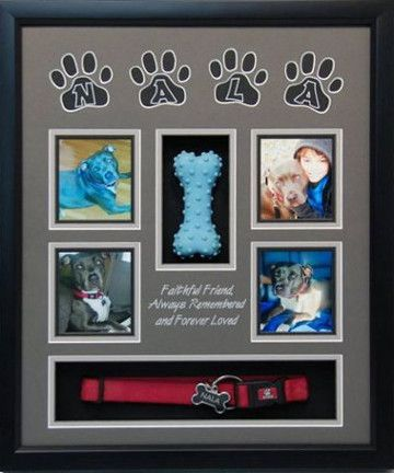 16 X 20 Pet Memorial Shadow Box Frame 12 In 2020 Dog Shadow Box Pet Memorial Ideas Dogs Pet Memorial Gifts