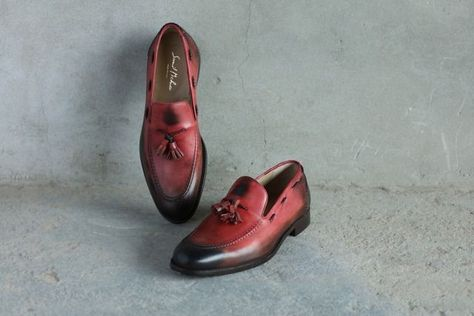 mens These slip on style rust...