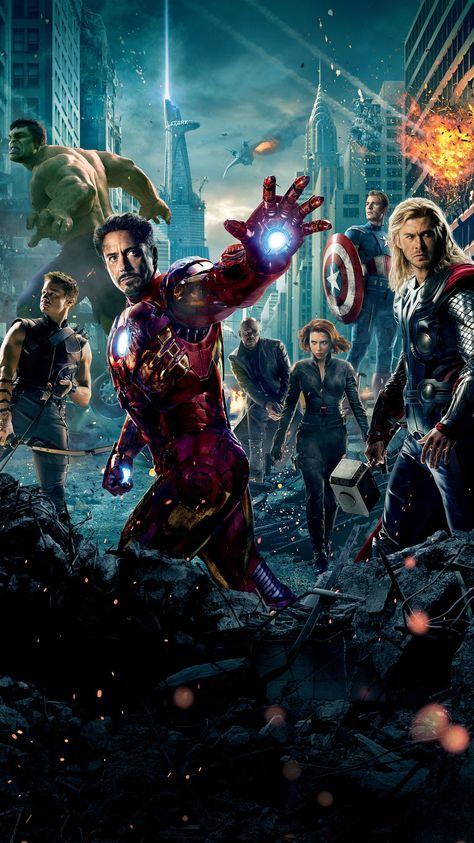 The Avengers (2012) Phone Wallpaper | Moviemania
