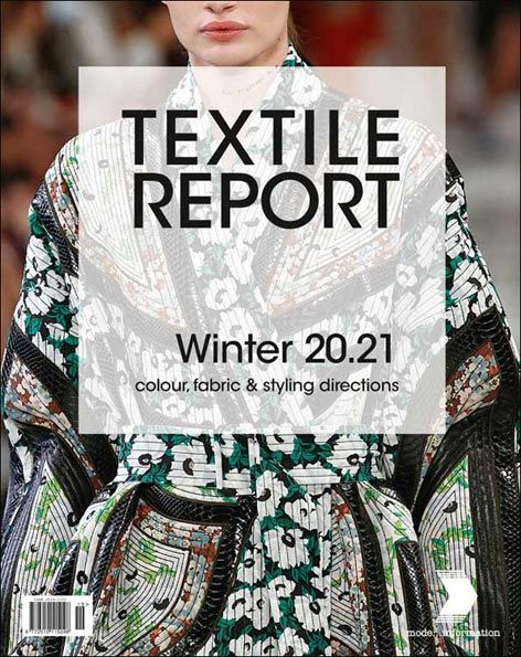 Published in the run-up to the fabric and yarn fairs, with special focus on young women's wear, street fashion, designer collections, trade fair reports.
