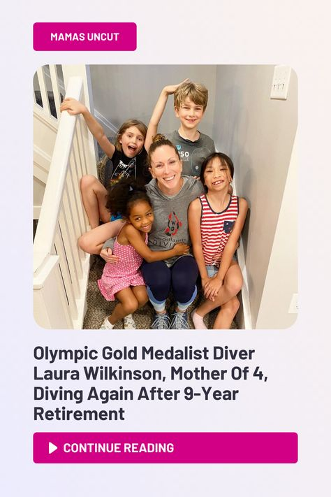 This is a story of resilience. Of a comeback. An Olympic-sized comeback. Of defying all odds. Of overcoming obstacles to chase dreams. This is the story of Laura Wilkinson. An Olympian diver who's chosen to dive head-first into an incredible endeavor, as she states on her Instagram bio, she's divin