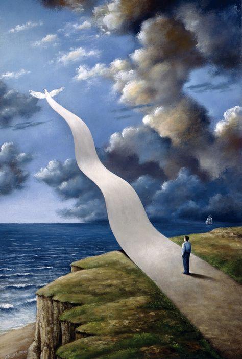 Rafal Olbinski, 1945   Surrealist / Visionary painter   Tutt'Art@   Pittura • Scultura • Poesia • Musica