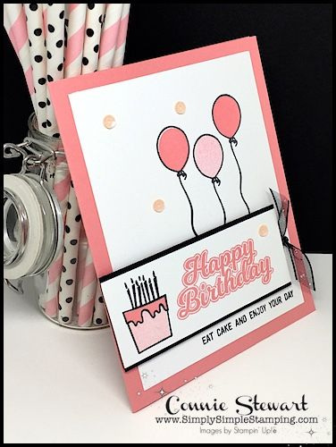 Quick Easy Birthday Card Creative Juice Week 51 Simply Simple Stamping Husband Birthday Card Simple Birthday Cards Card Making Birthday