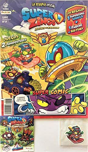 EDIBA Pack Revista Oficial Superzings Series 4