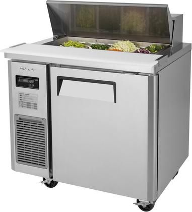 Jst 36 N 36 J Series Sandwich Salad Prep Table With 7 5 Cu Ft