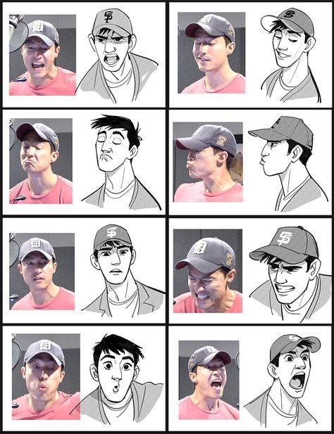 tadashi's faces