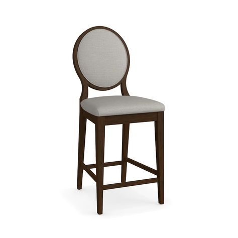 Custom Dining Oval X Back Uph Counter Stool In 2020 Upholstered