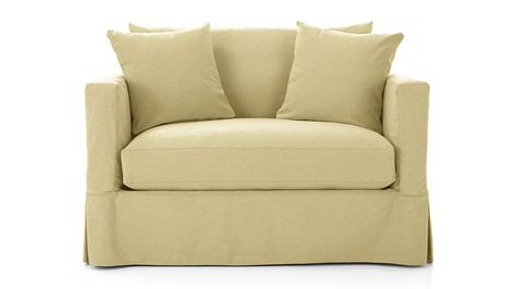 Remarkable Willow Modern Slipcovered Twin Sleeper Sofa Slipcovers For Uwap Interior Chair Design Uwaporg
