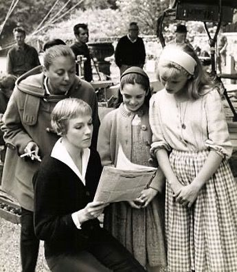 The Sound Of Music On Instagram Behind The Scenes Sound Of Music Sound Of Music Movie Scenes