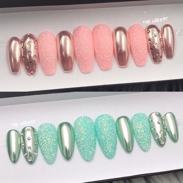 Signature Luxury Press On Nails Buy Luxury Custom Nails Online