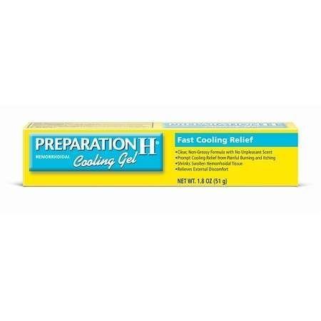 Preparation H Hemorrhoidal Cooling Gel Preparation H Vitamins