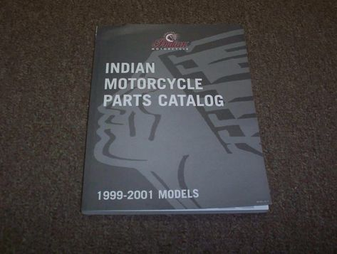 1999 2000 2001 Indian Chief Scout Spirit Deluxe Motorcycle Parts Catalog Manual Indian Motorcycle Motorcycle Accessories Motorcycle