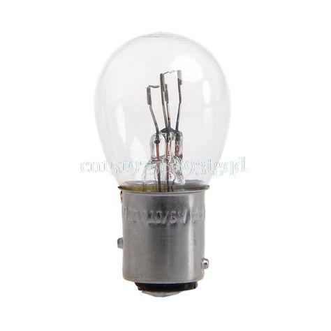 Dc 12v 1157 10w Light Bulb Auto Car Brake Stop Signal Turn Reverse Tail Lamp S25 T518 Bulb Car Lights