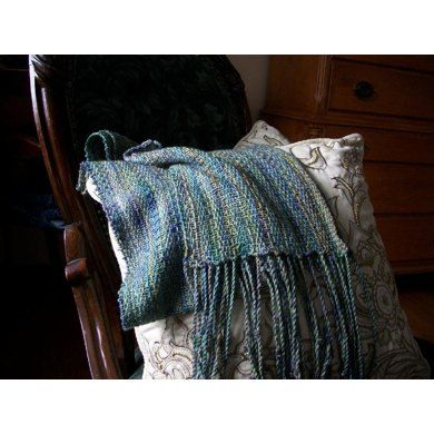 Linen Stripes Scarf Knitting pattern by Eileen Vito | Knitting Patterns | LoveKnitting