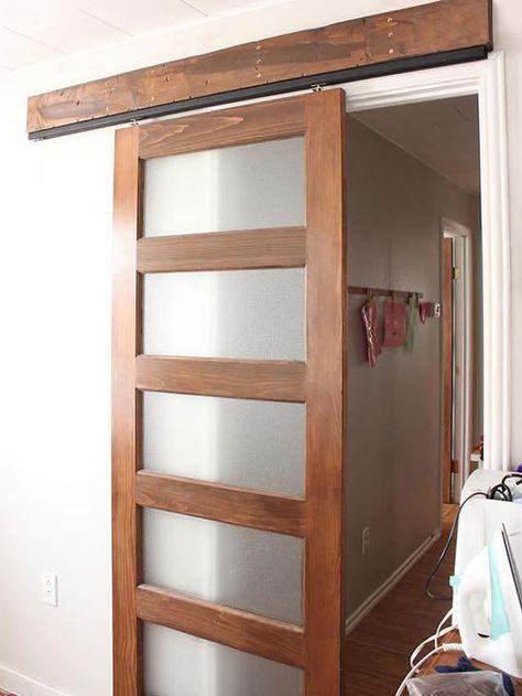 Diy Barn Doors For Every Style In 2020 Diy Sliding Door Diy Cabinet Doors Diy Interior Doors