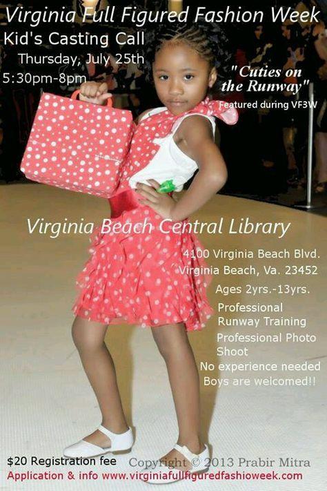 Children S Casting Call Full Figured Fashion Week Full Figure Fashion Professional Photo Shoot
