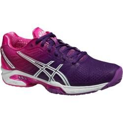 Asics Gel Solution Speed 2 hotpink Tennisschuhe Damen Asics ...