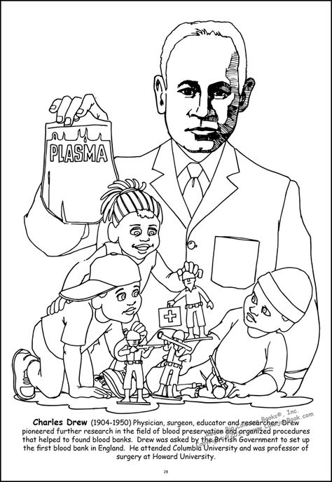 african american coloring pages | African American Leaders ...