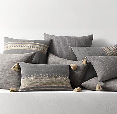 Handwoven Bhujodi Pillow Cover