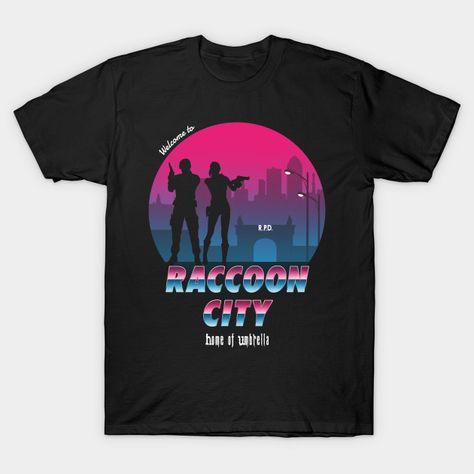 Home of Umbrella - Resident Evil - T-Shirt | TeePublic