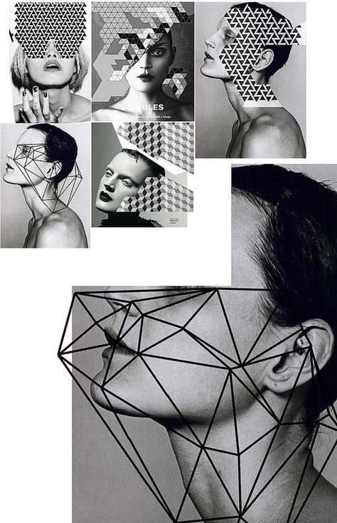 REFERENTES: Diseño Geométrico + Fotografía Graphic black and white / geometric inspiration. Remains me the necessary ergonomics to add in our designs.