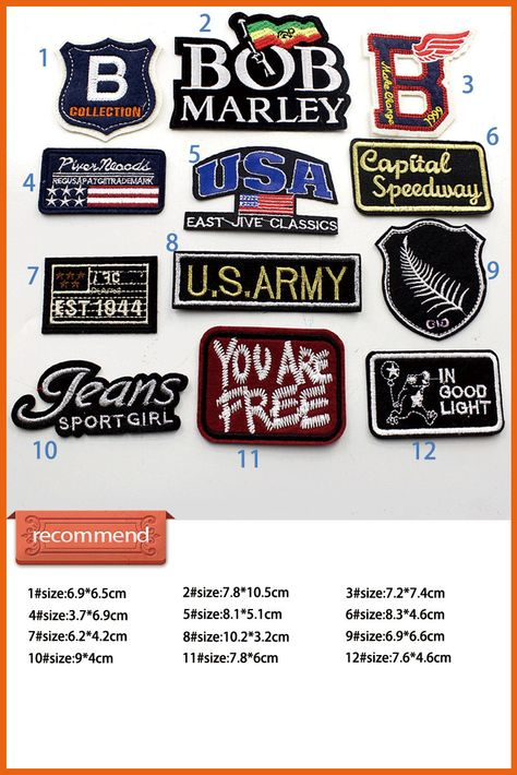 Punk Patches Individuality Hat patches retro patches Embroidered Iron-On  Patches sew on patches retro patch patch patches applique embroidery badges  iron on ... 9bbebd4a3f9